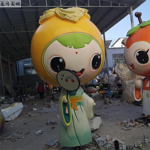 三门峡磊鸿园林玻璃钢雕塑价格 园林玻璃钢雕塑定制 卡通人物雕塑报价