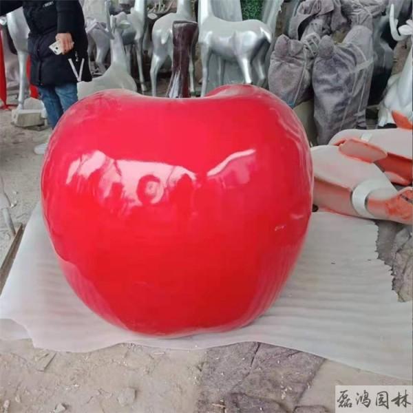 平顶山磊鸿园林玻璃钢雕塑生产厂家 城市景观园林玻璃钢雕塑植物瓜果雕塑定制