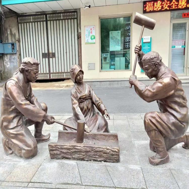 大型景观人物雕塑铜雕 城市雕塑 广场景观雕塑 圣喜玛