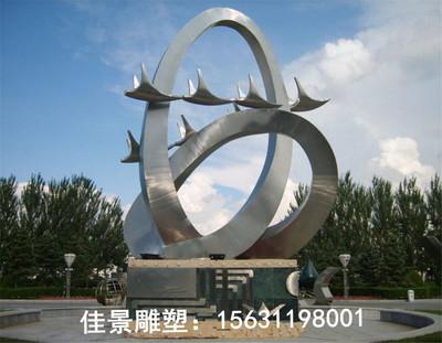 """""""河南郑州大型广场不锈钢雕塑厂家"""""""