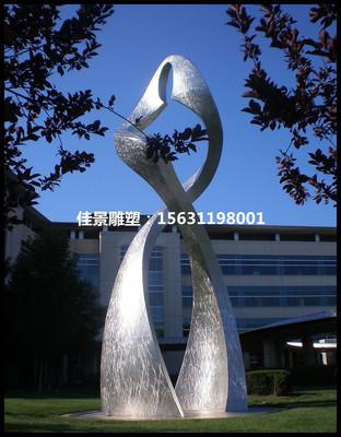 广场小区街头不锈钢雕塑