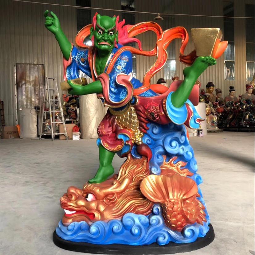 魁星爷神像 功名禄位之神魁星雕塑
