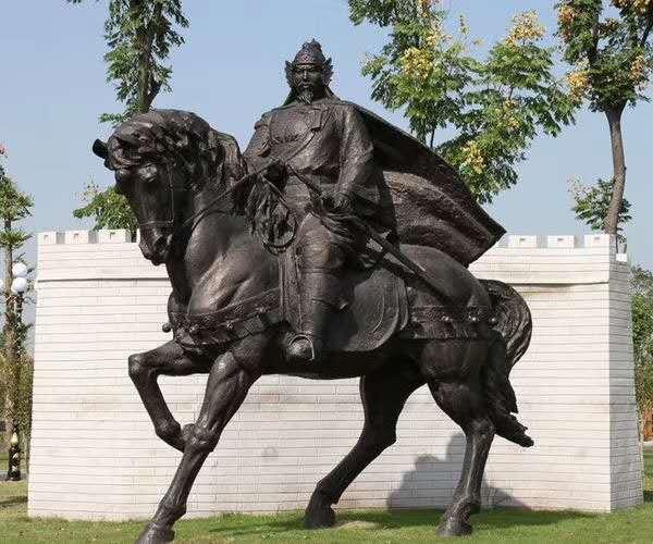 铜马雕塑 大型铜马雕塑公司 圣喜玛