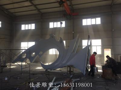 不锈钢雕塑凤凰 (12)