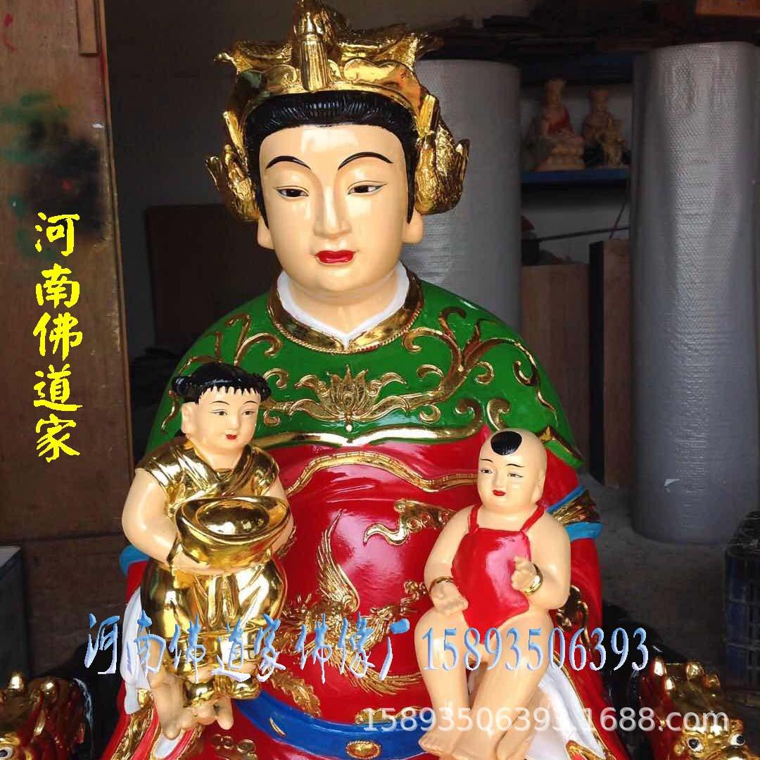 九天玄女神像 九天娘娘 九天圣母佛像 九天玄母天尊佛像厂批发示例图6