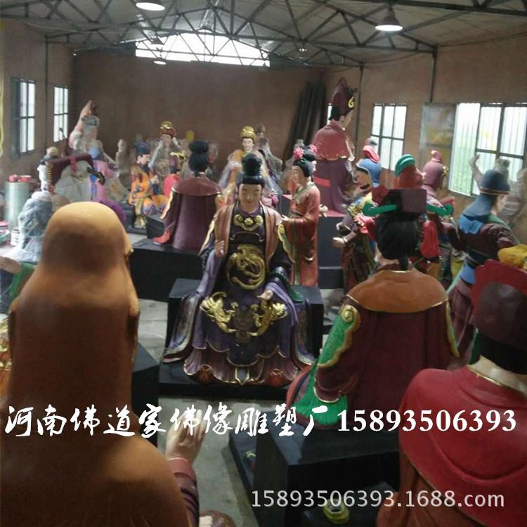 河南佛道家佛像雕塑厂供应大型佛像 十二老母佛像2.2米 泰山老母示例图2