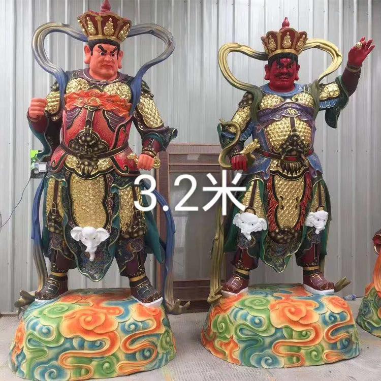 四大金刚铜佛像定制厂家 四大金刚价格 圣喜玛