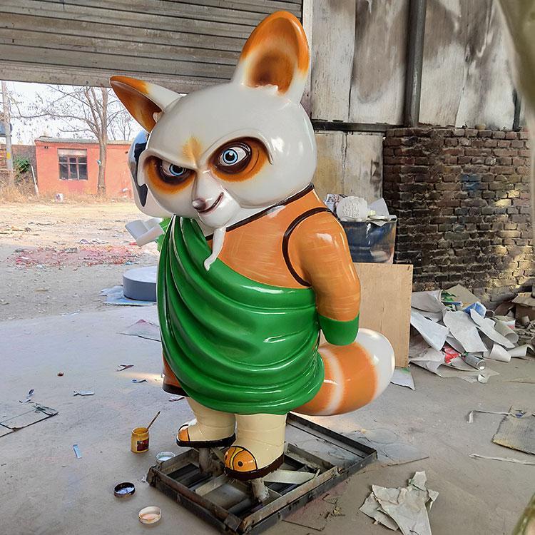 可爱卡通人物形象雕塑 吉祥物卡通动漫动物模型 鹏钊雕塑,鹏钊