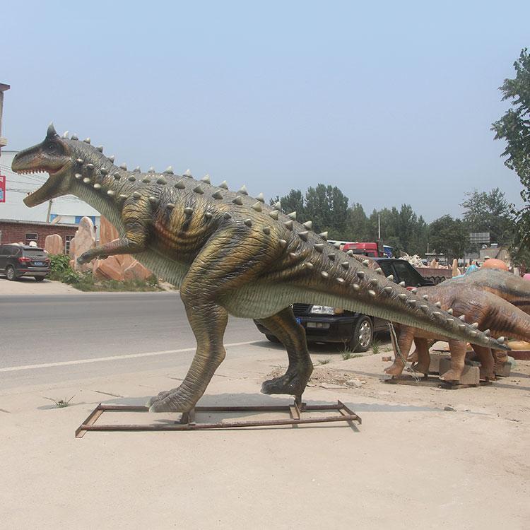 园林景观恐龙厂家定制 仿真恐龙定制 公园小区动物雕塑摆件,鹏钊