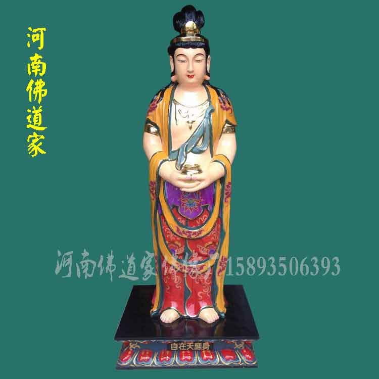 三十三观音菩萨雕刻 观音老母佛像厂家 佛教三十三观音批发厂家示例图2