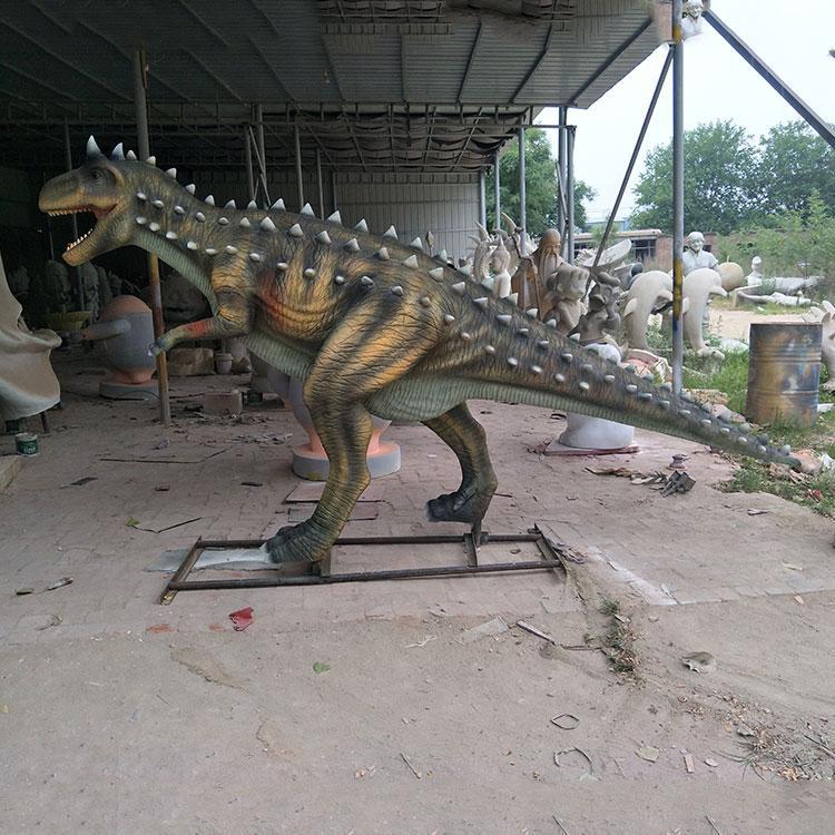 玻璃钢大型恐龙雕塑 园林景观恐龙定制 玻璃钢仿真恐龙厂家,鹏钊