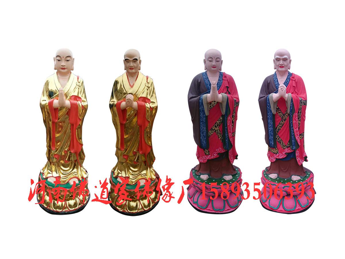 魏征真人像1.3米 唐太宗雕塑 专业订制玻璃钢木雕佛像示例图6