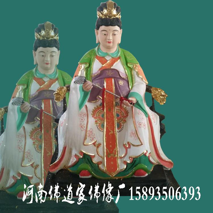 极彩玉皇大帝神像 王母玉帝佛像批发 七仙女董永人物雕塑厂家示例图8