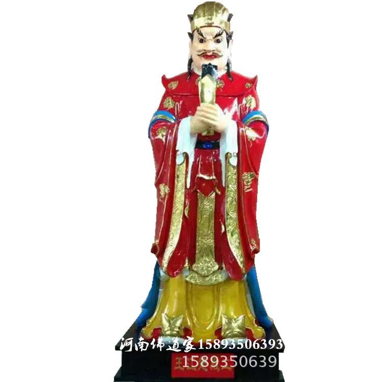 大力鬼王神像图片大全  独角鬼王彩绘神像生产厂家供应批发示例图12
