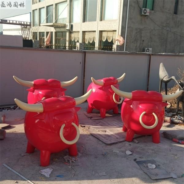 潍坊磊鸿园林玻璃钢雕塑报价 景观园林创意玻璃钢雕塑卡通动物雕塑定制价格