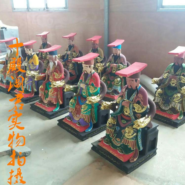大力鬼王神像图片大全  独角鬼王彩绘神像生产厂家供应批发示例图5