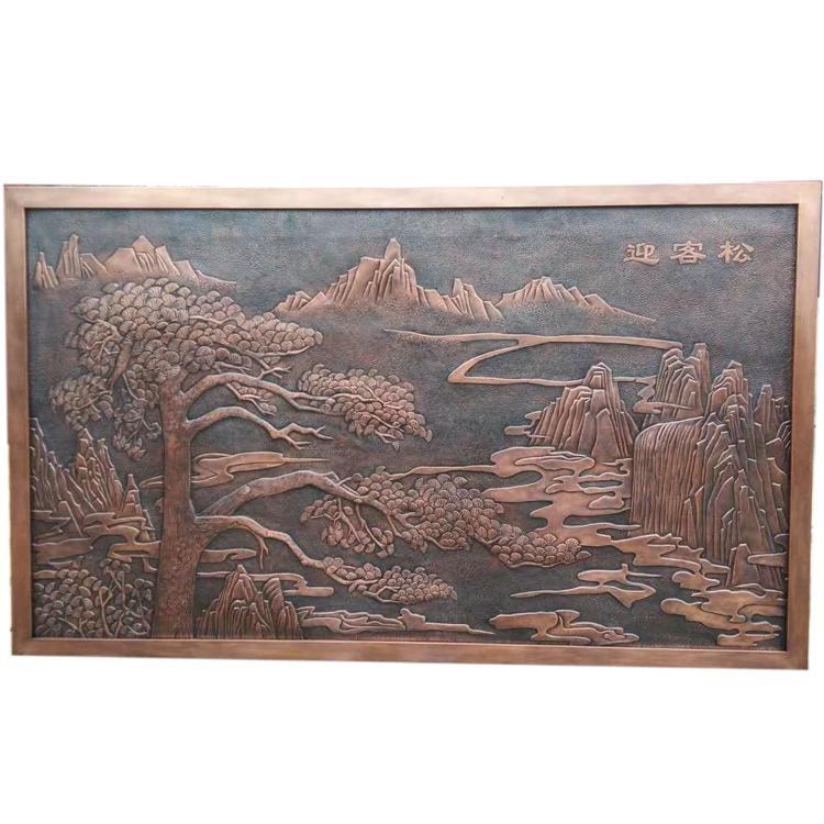 河北铜地雕生产厂家 铜地雕定制 圣喜玛