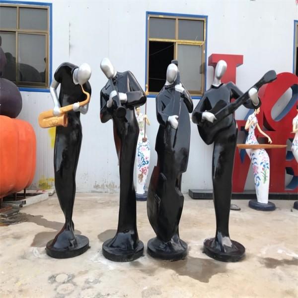 大同磊鸿园林玻璃钢雕塑价格 卡通人物雕塑设计 玻璃钢雕塑园林景观制作价格