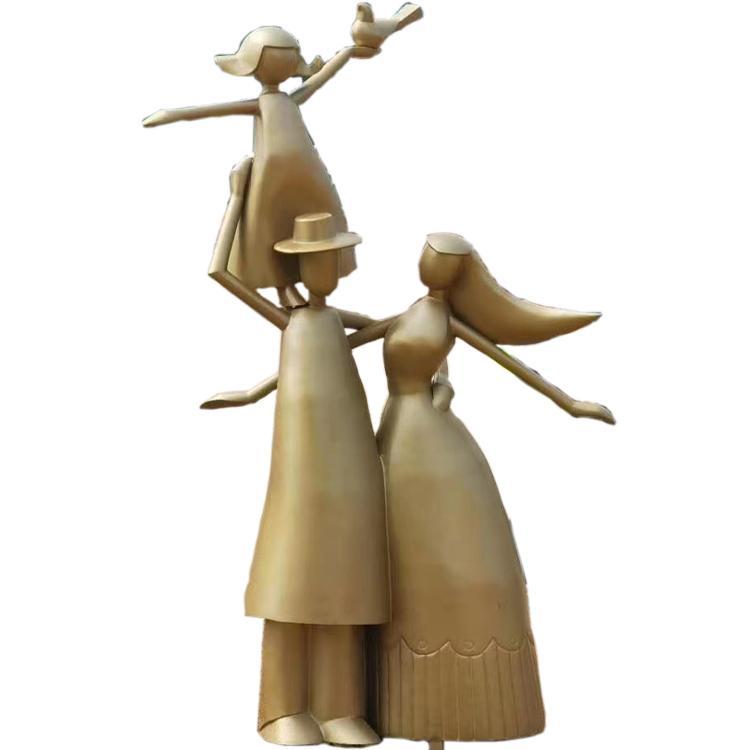 大型人物雕塑 现代人物雕塑厂家 圣喜玛