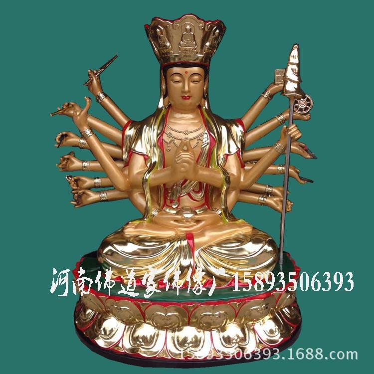 准提佛母佛像厂家 准提菩萨价格 七俱胝佛母 准提观音佛像图片示例图1