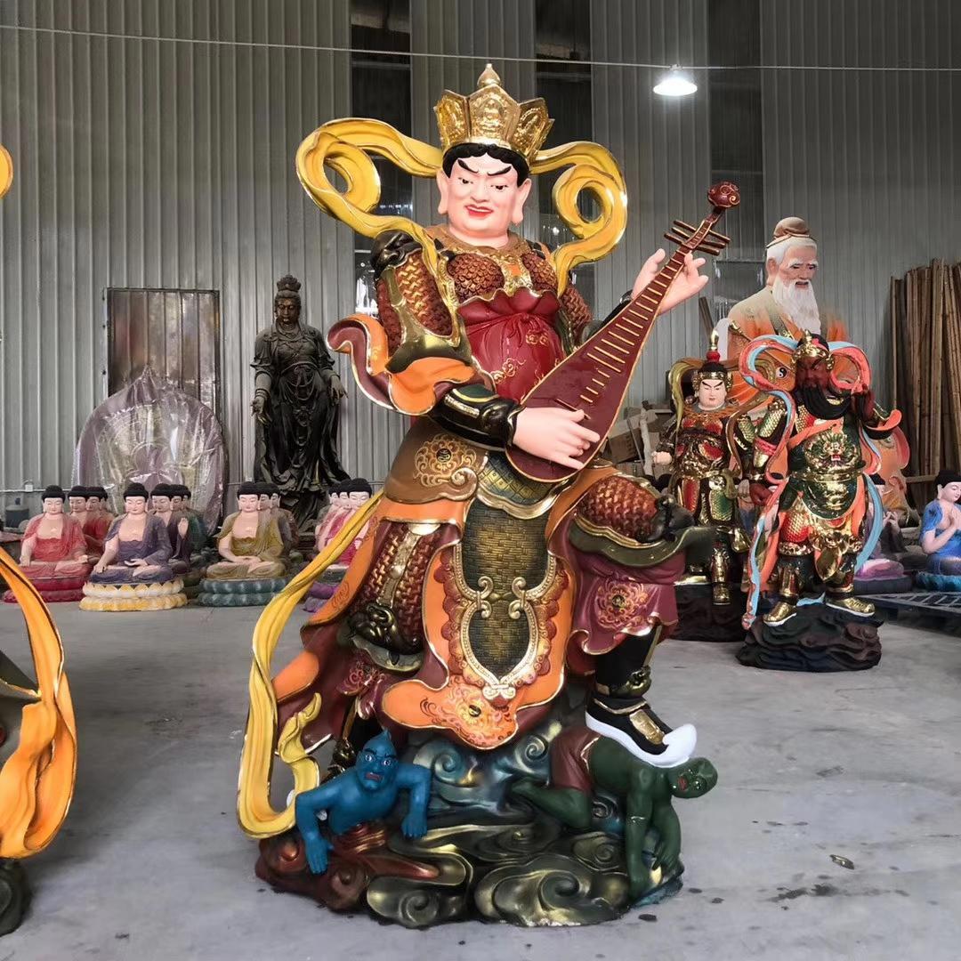 铜佛像定制 贴金彩绘三宝佛像 铜三世佛 圣喜玛