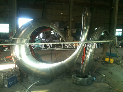 河南郑州校园不锈钢雕塑 抽象不锈钢雕塑厂家