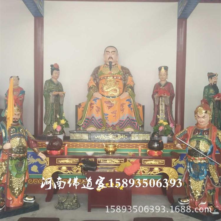 河南佛像厂供应道教神像 三清祖师 纯阳祖师吕祖1.4米 激彩神像示例图1