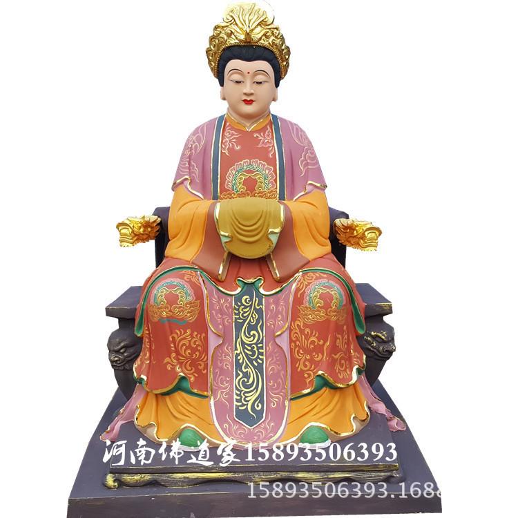 道教神像 太乙救苦天尊像 东极青华大帝神像 玻璃钢木雕像批发示例图14