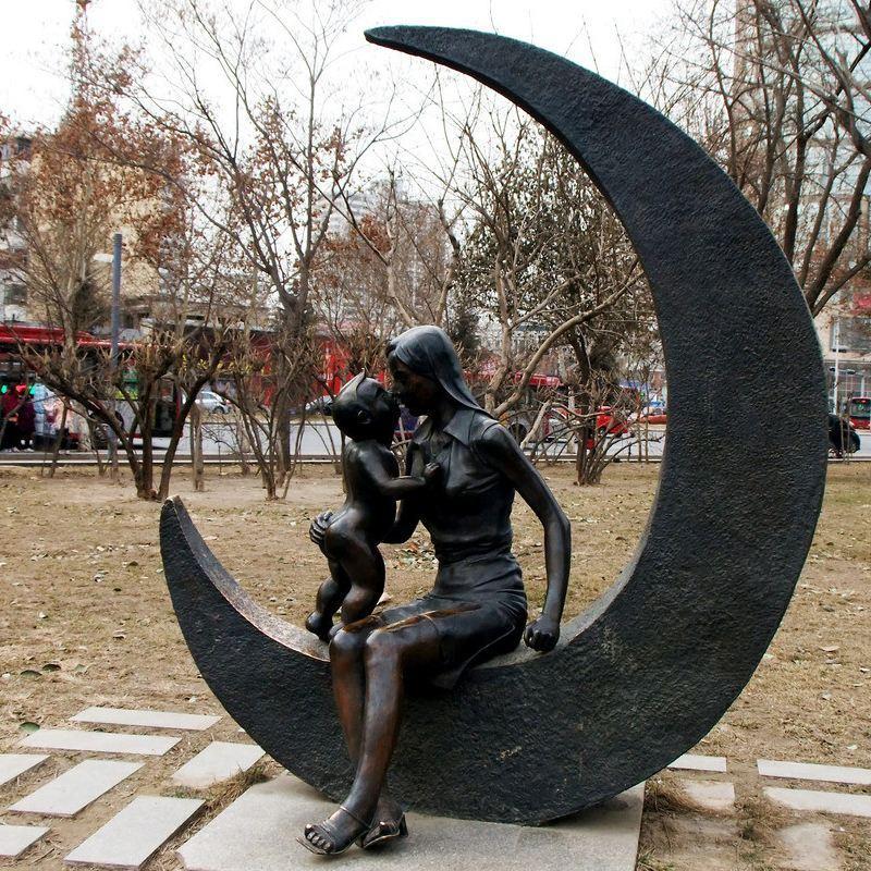 大型锻造铜人物 专业制作人物铜雕 现代人物铸铜雕塑 圣喜玛