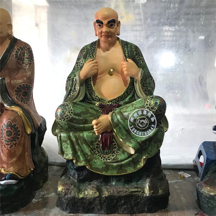 佛像雕塑制作 十八罗汉金身佛像
