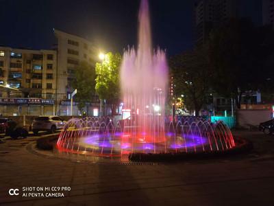 水榭 喷泉设备 水景系统 喷雾效果 水池