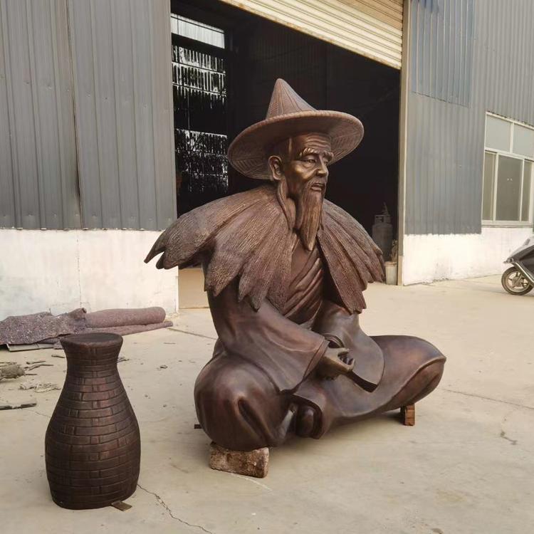 大型铜雕设计施工 民俗文化雕塑 铸铜人物雕塑 圣喜玛