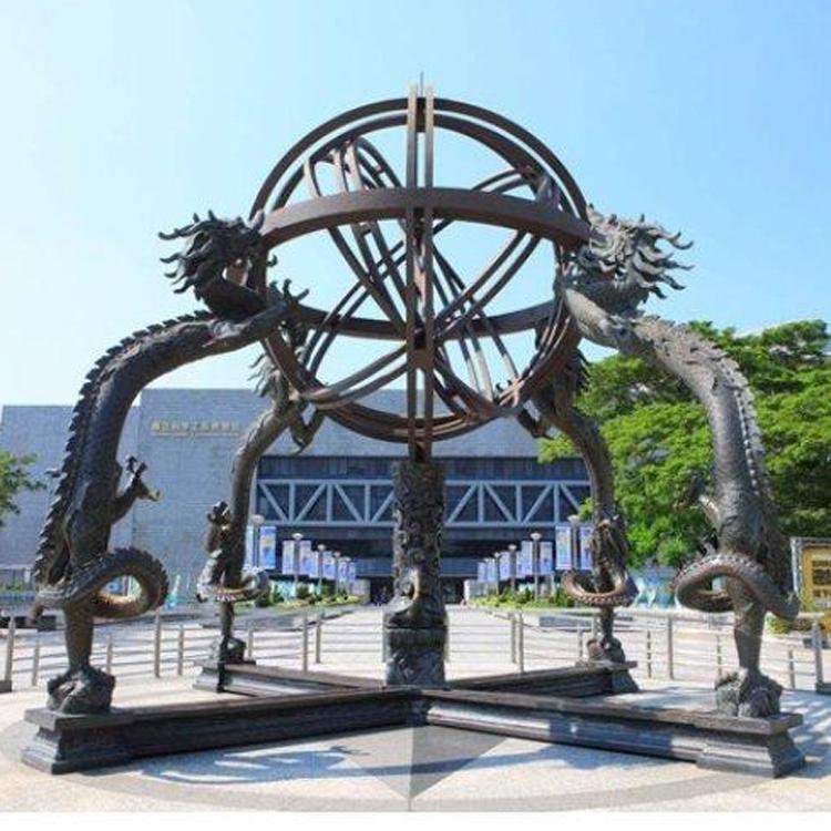 纯铜浑天仪 广场纯铜浑天仪定做 圣喜玛