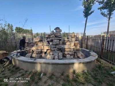 假山制作 奇石价格 水榭 景观工程 塑山塑树
