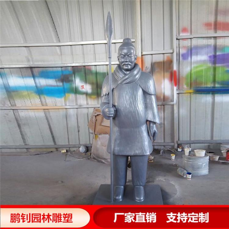 人物雕塑 仿真雕塑 景观雕塑 玻璃钢雕塑,鹏钊