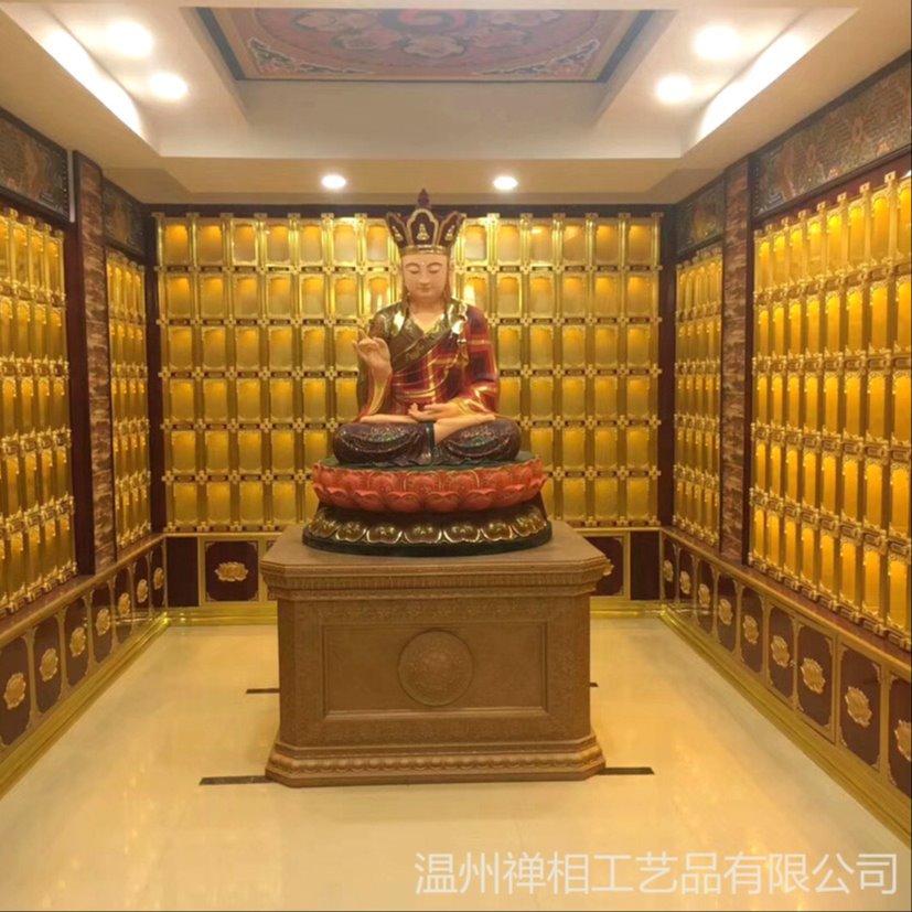 厂家供应 大型寺院万佛殿佛龛 专注佛龛定制