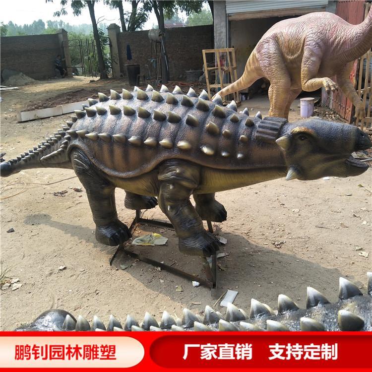 玻璃钢龟龙雕塑玻璃钢恐龙定制鹏钊雕塑,鹏钊