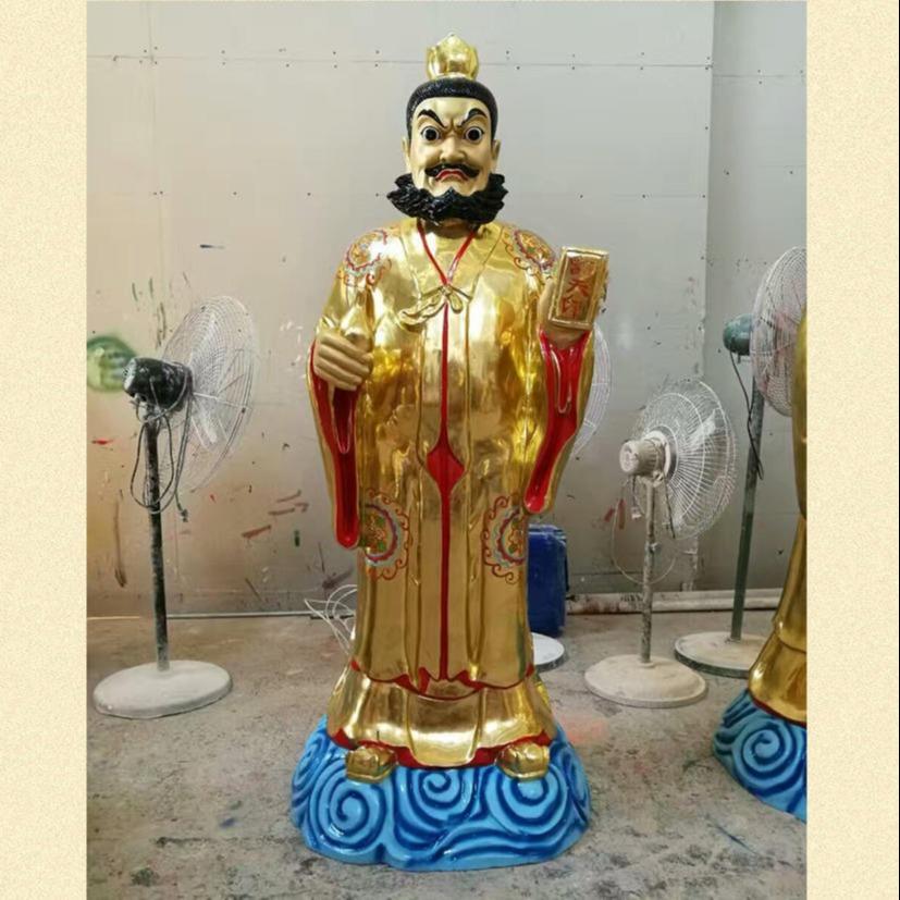 十二金仙神像雕塑 大型1.7米站像十二金仙佛像制作