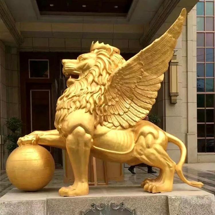 镇宅故宫铜狮子 广场故宫铜狮子 圣喜玛