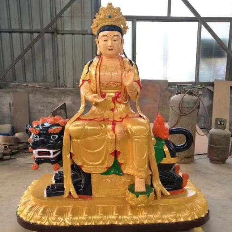 厂家直销 普贤菩萨佛像 华严三圣铜佛像 圣喜玛