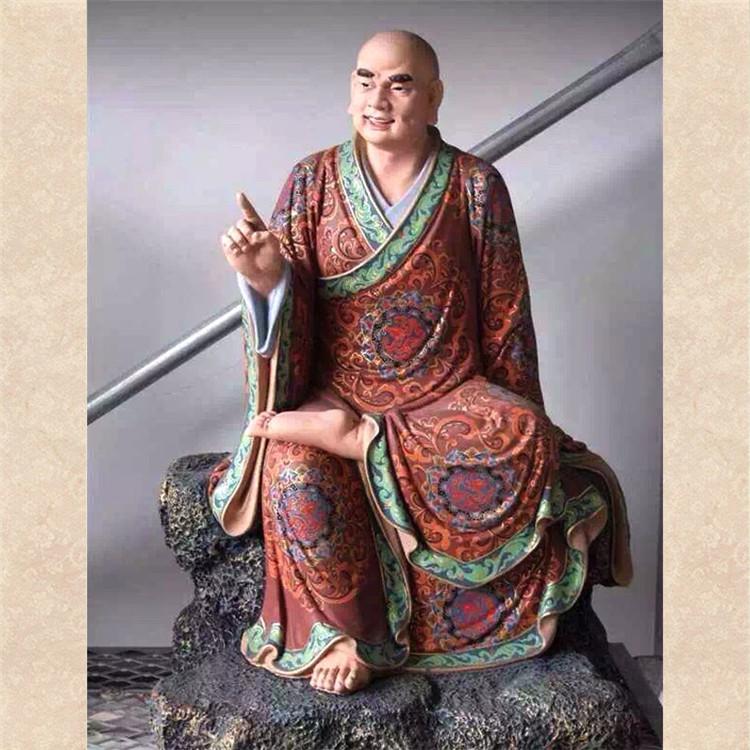 承接寺庙佛像雕塑制作工程 十八罗汉佛像雕塑