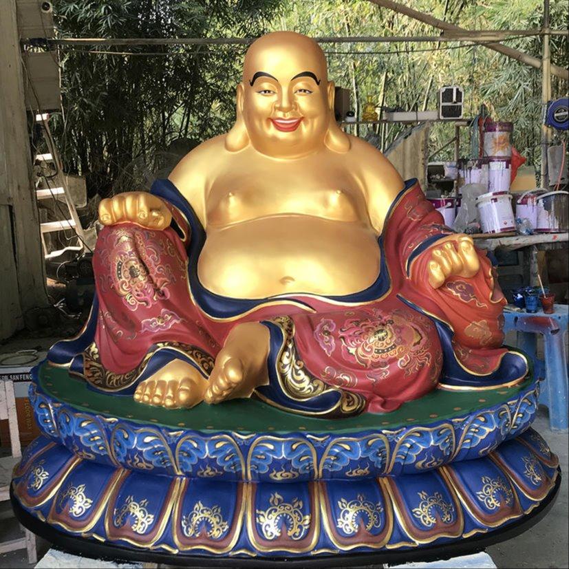 弥勒佛佛像 彩绘弥勒菩萨佛像定做