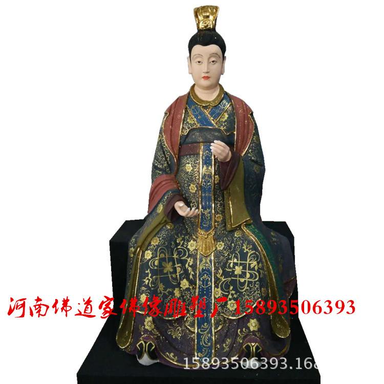 八仙佛像厂家 河南批发 何仙姑神像 张果老雕塑 玻璃钢佛像订制示例图4