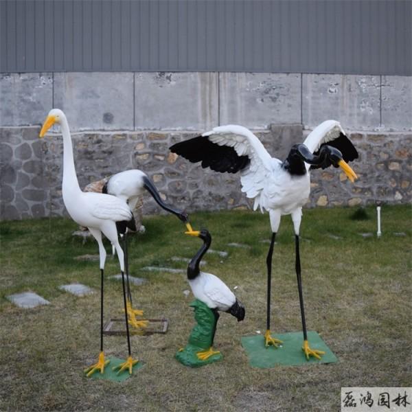 天津磊鸿园林玻璃钢雕塑生产厂家 城市园林景区玻璃钢雕塑动物雕塑设计制作