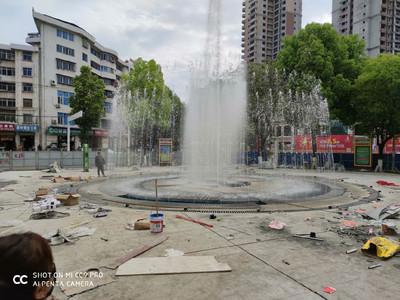 喷泉维修 水景系统 冷雾效果