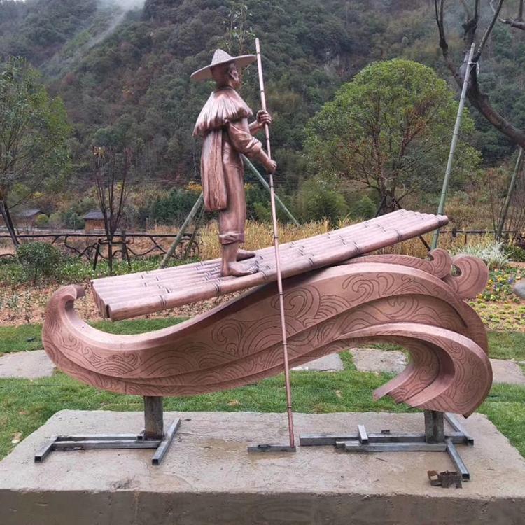 厂家直供铜雕 公园绿地雕塑摆件 民俗人物雕塑 圣喜玛