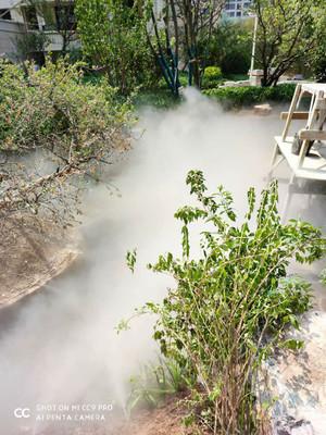 喷泉设备厂 水榭 冷雾安装