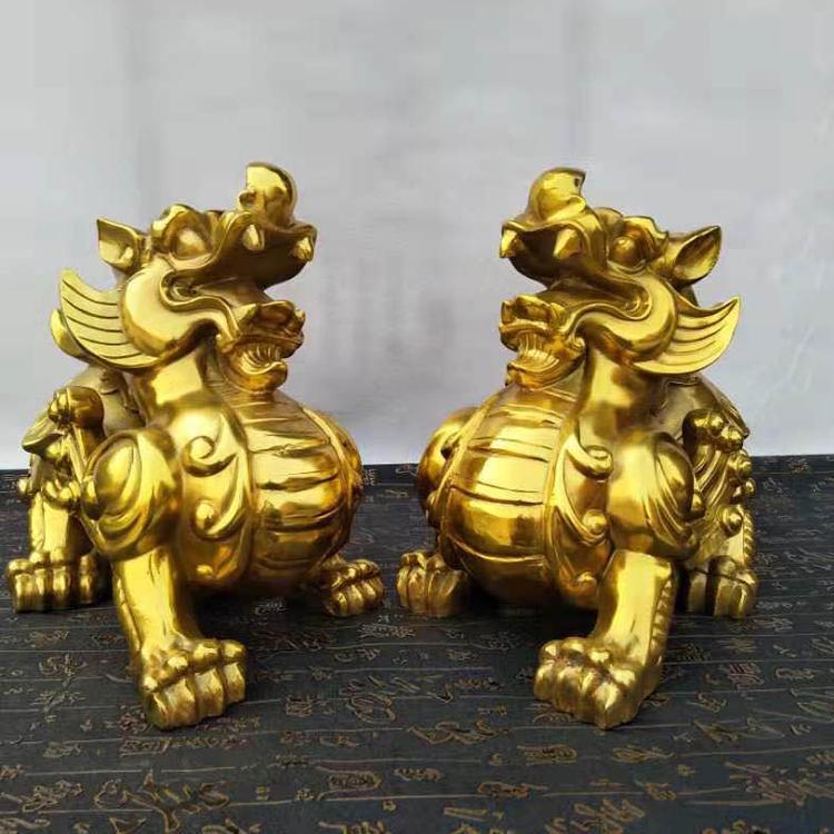 铜貔貅 招财镇宅铜貔貅摆件 圣喜玛