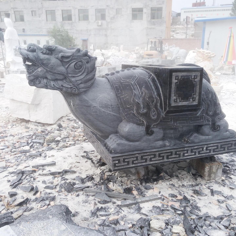 石雕龙龟 石雕石碑刻字加工定制 英翰园林雕塑