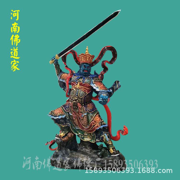 河南南阳佛像厂 三霄娘娘生产批发商 送子奶奶雕塑价格示例图1